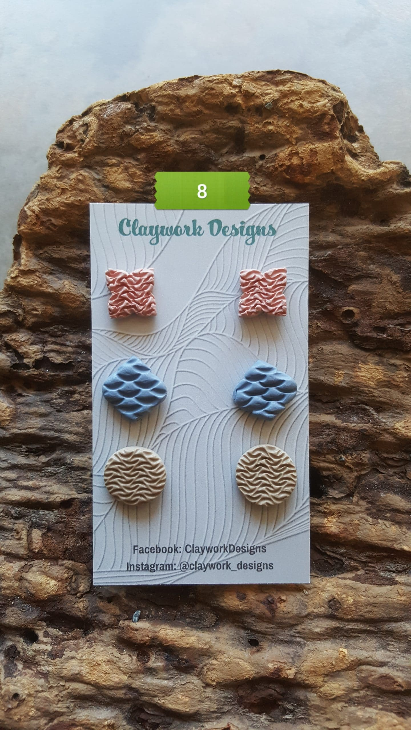 Wirework Designs | Handcrafted chainmaille jewellery and chainmaille products | Chainmaille Weave Stud Earring - 3 Packs | 20210620_172319