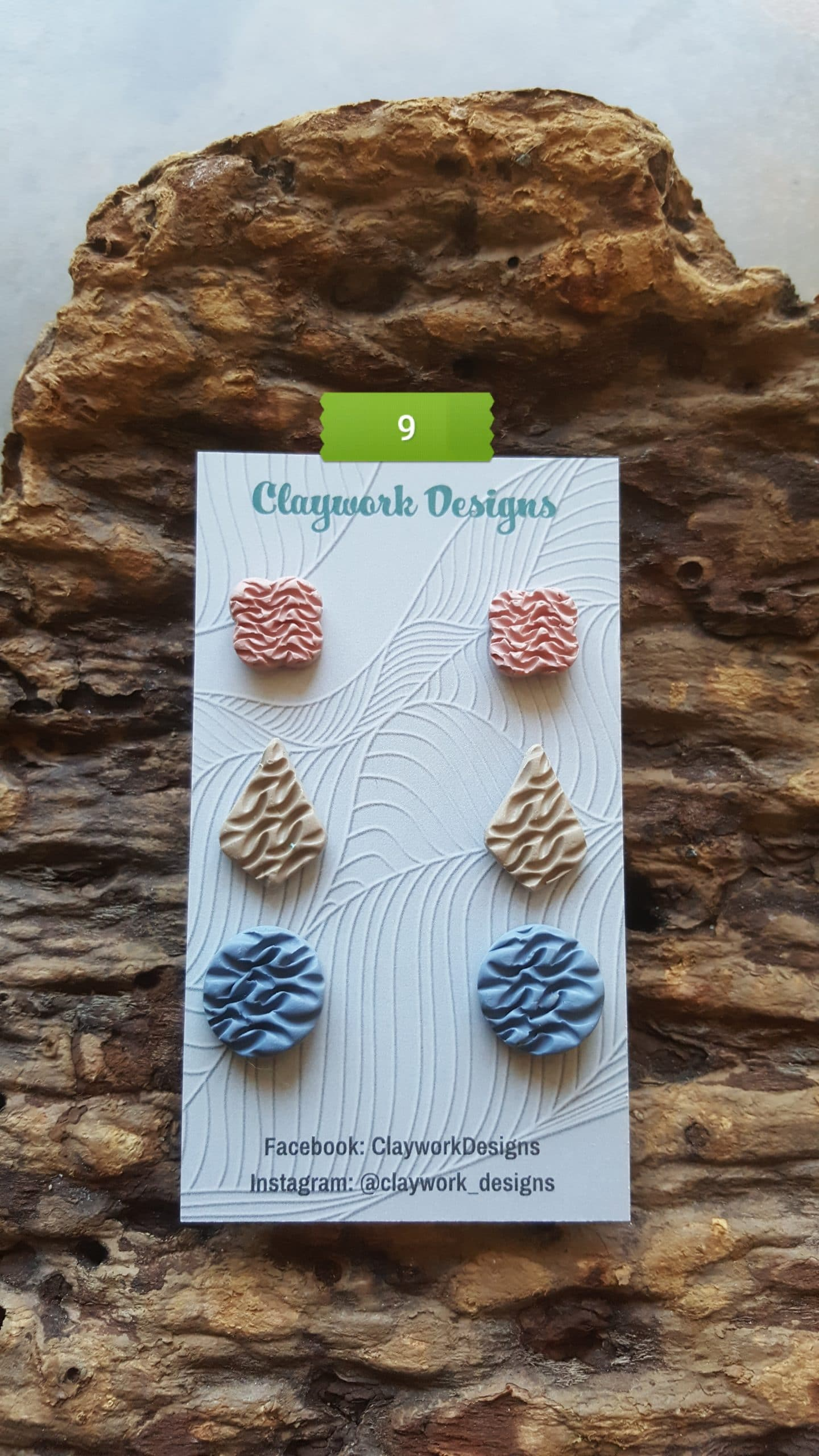 Wirework Designs | Handcrafted chainmaille jewellery and chainmaille products | Chainmaille Weave Stud Earring - 3 Packs | 20210620_172348