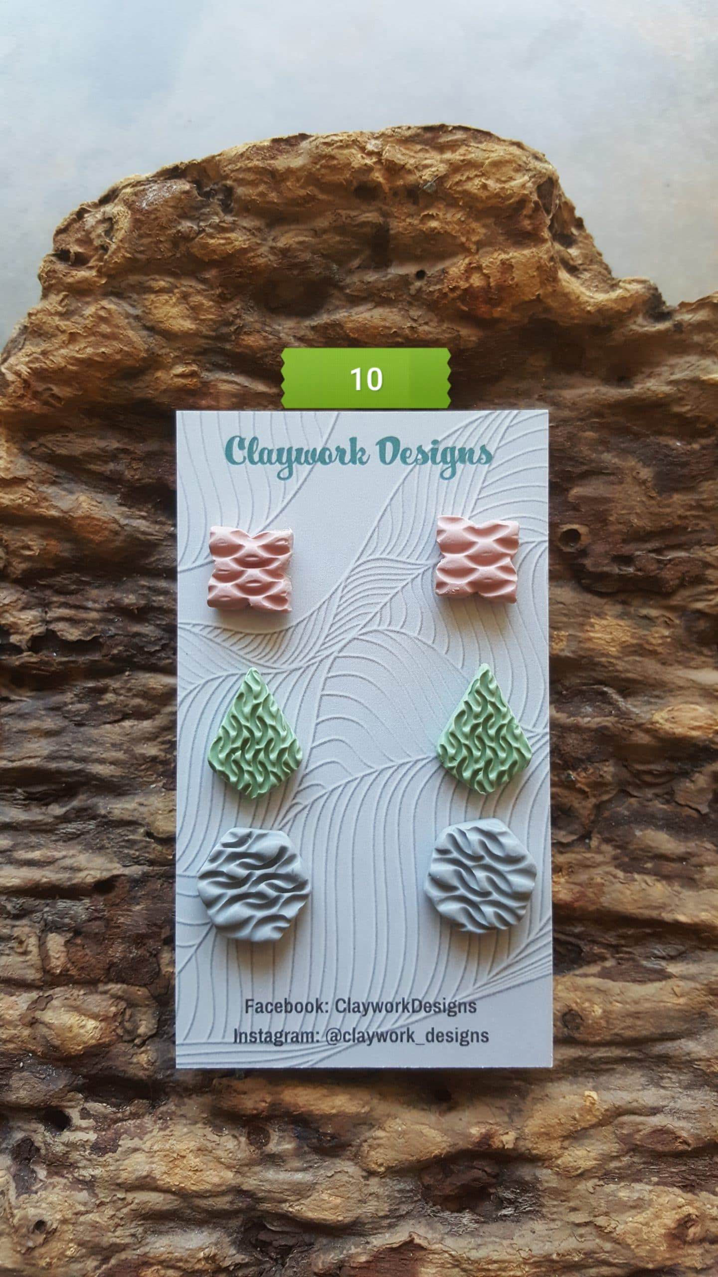 Wirework Designs | Handcrafted chainmaille jewellery and chainmaille products | Chainmaille Weave Stud Earring - 3 Packs | 20210620_172418