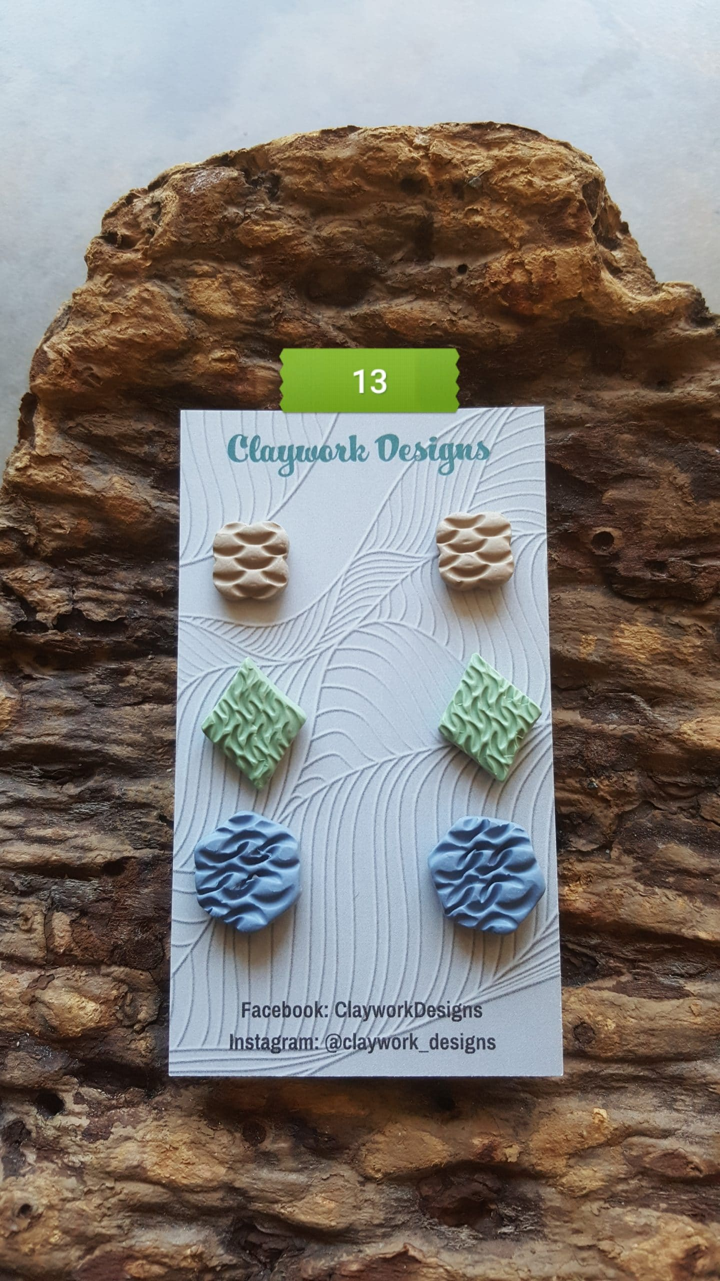 Wirework Designs | Handcrafted chainmaille jewellery and chainmaille products | Chainmaille Weave Stud Earring - 3 Packs | 20210620_172543