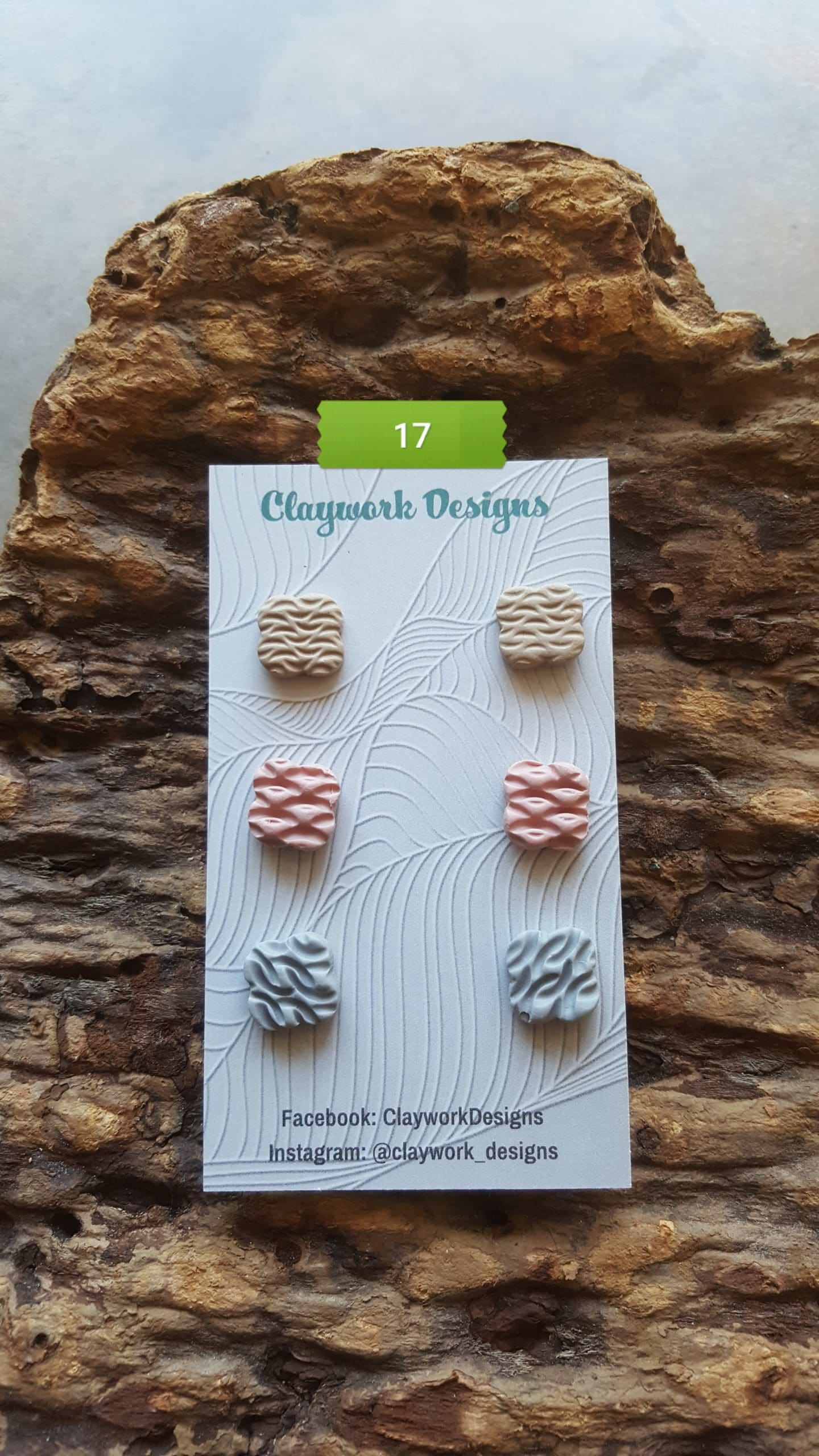 Wirework Designs | Handcrafted chainmaille jewellery and chainmaille products | Chainmaille Weave Stud Earring - 3 Packs | 20210620_172758