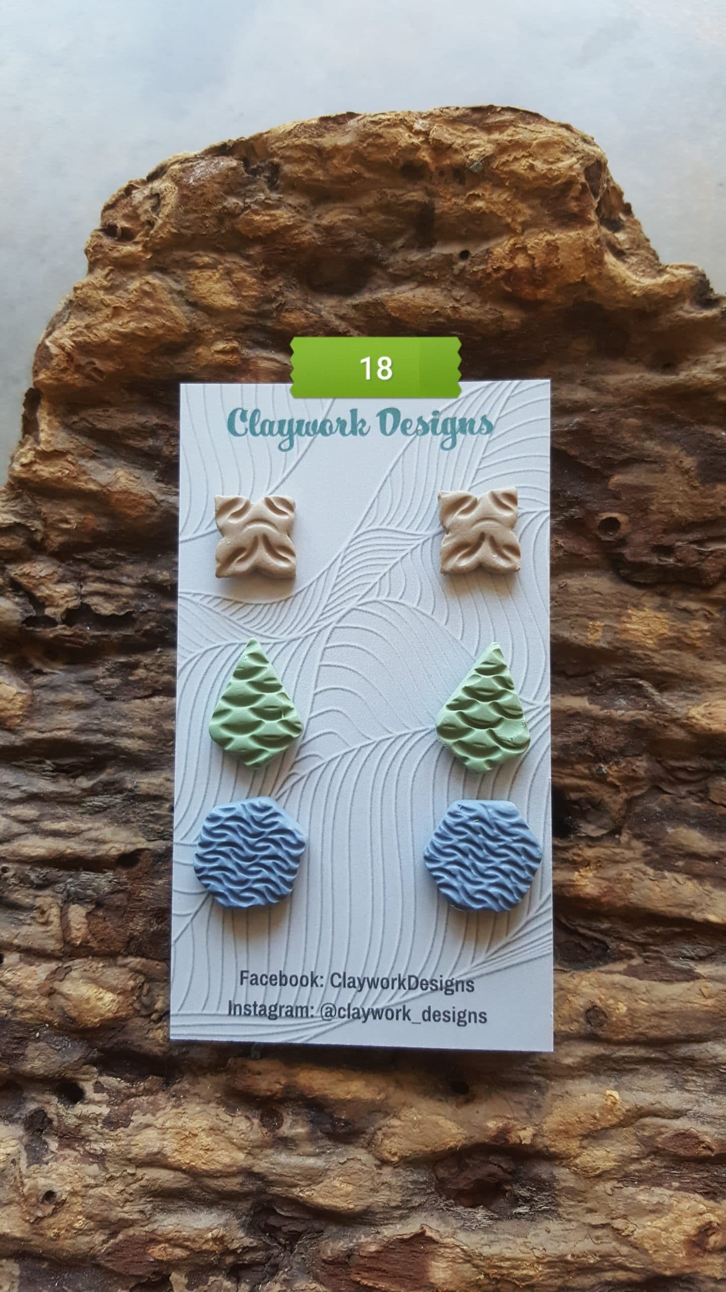 Wirework Designs | Handcrafted chainmaille jewellery and chainmaille products | Chainmaille Weave Stud Earring - 3 Packs | 20210620_172840
