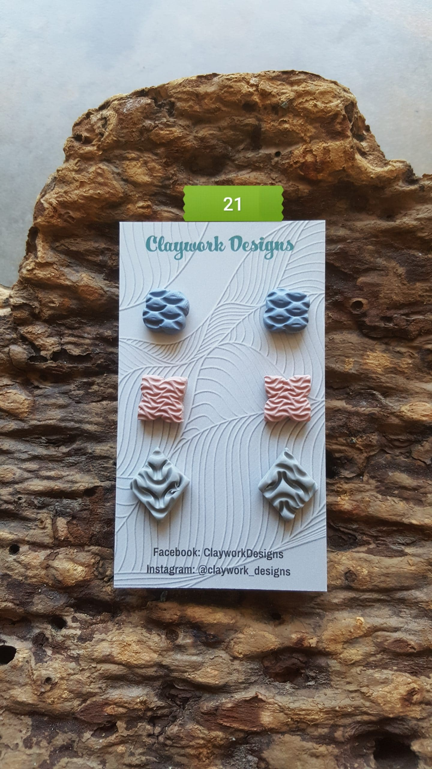 Wirework Designs | Handcrafted chainmaille jewellery and chainmaille products | Chainmaille Weave Stud Earring - 3 Packs | 20210620_173014