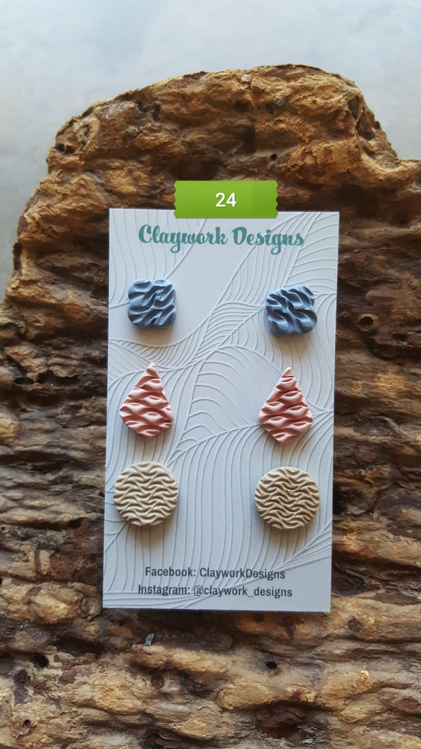 Wirework Designs | Handcrafted chainmaille jewellery and chainmaille products | Chainmaille Weave Stud Earring - 3 Packs | 20210620_173153