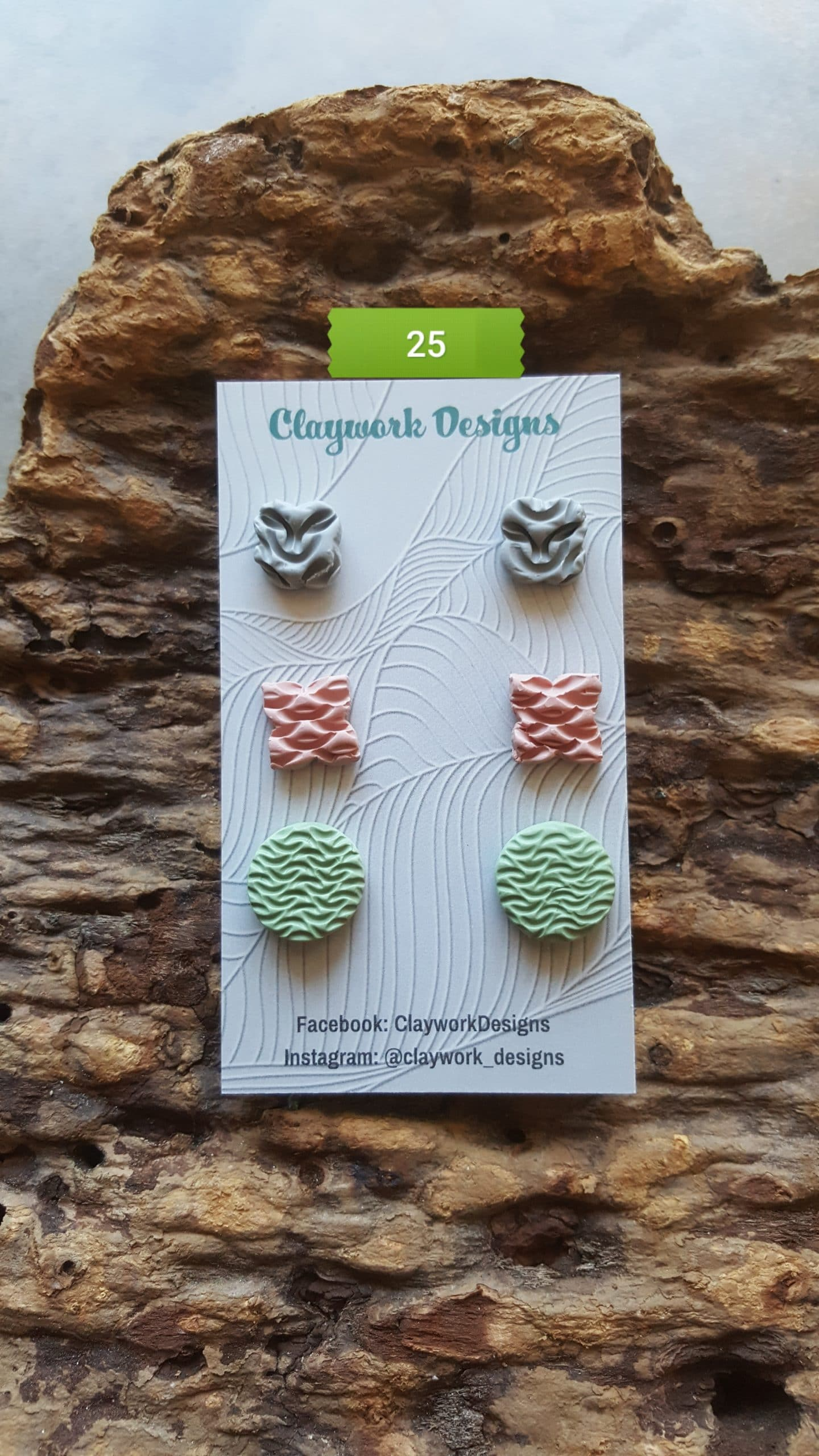 Wirework Designs | Handcrafted chainmaille jewellery and chainmaille products | Chainmaille Weave Stud Earring - 3 Packs | 20210620_173228