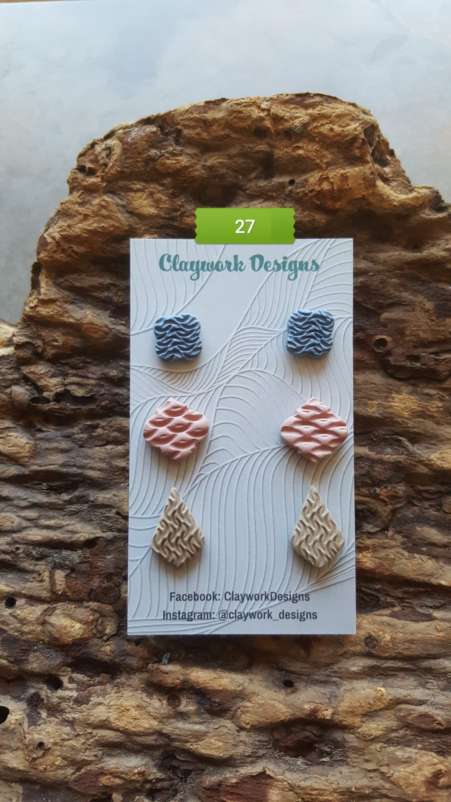 Wirework Designs | Handcrafted chainmaille jewellery and chainmaille products | Chainmaille Weave Stud Earring - 3 Packs | 20210620_173329
