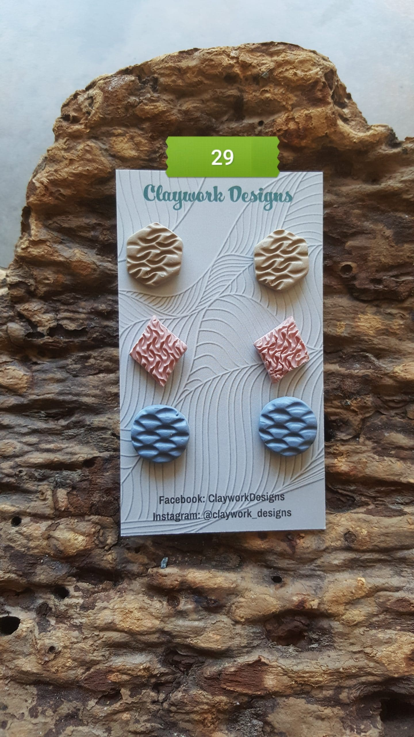 Wirework Designs | Handcrafted chainmaille jewellery and chainmaille products | Chainmaille Weave Stud Earring - 3 Packs | 20210620_173427