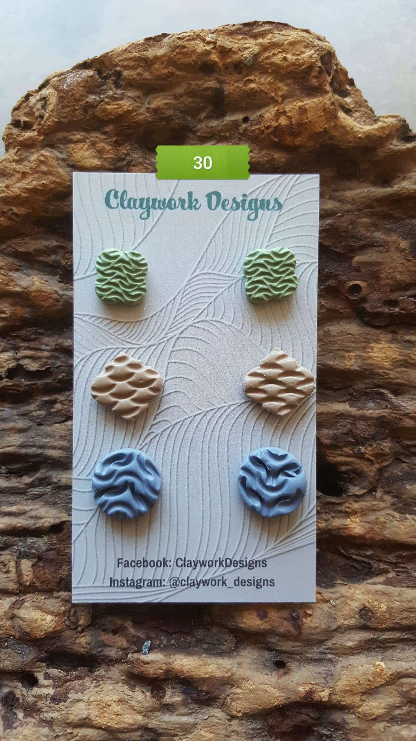Wirework Designs | Handcrafted chainmaille jewellery and chainmaille products | Chainmaille Weave Stud Earring - 3 Packs | 20210620_173450