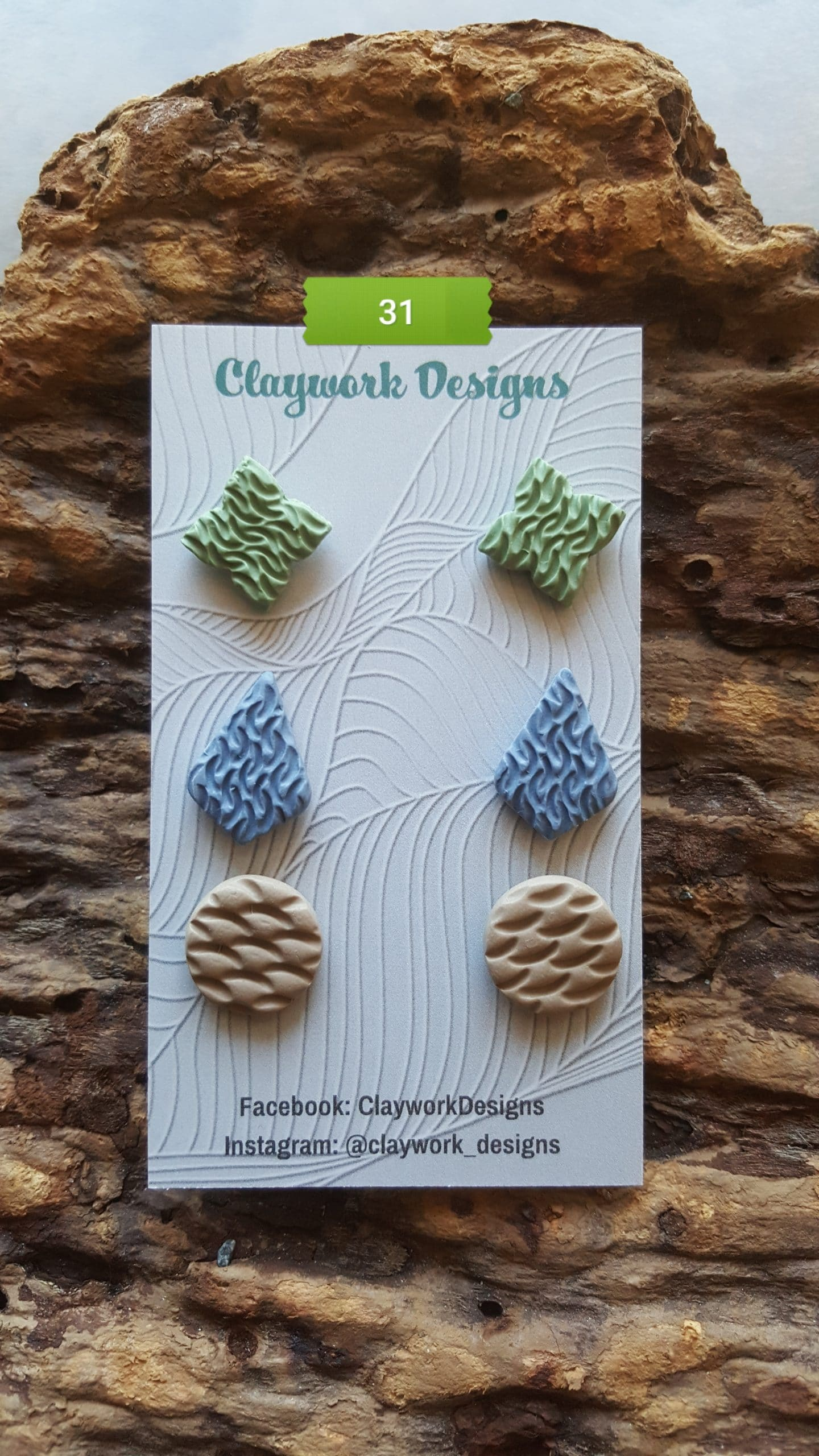 Wirework Designs | Handcrafted chainmaille jewellery and chainmaille products | Chainmaille Weave Stud Earring - 3 Packs | 20210620_173512