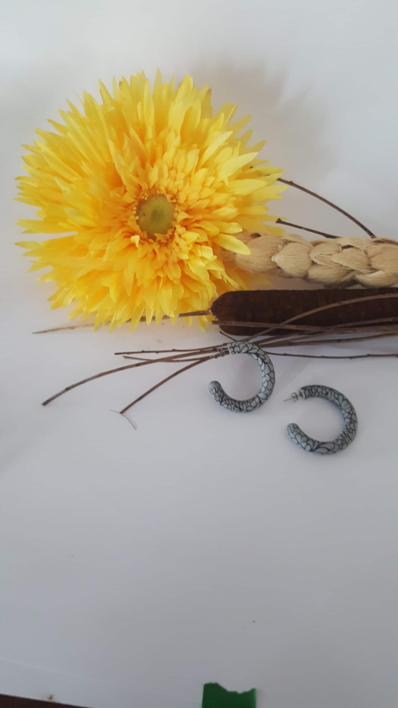 Wirework Designs | Handcrafted chainmaille jewellery and chainmaille products | Clay Hoops | 20210810_091558