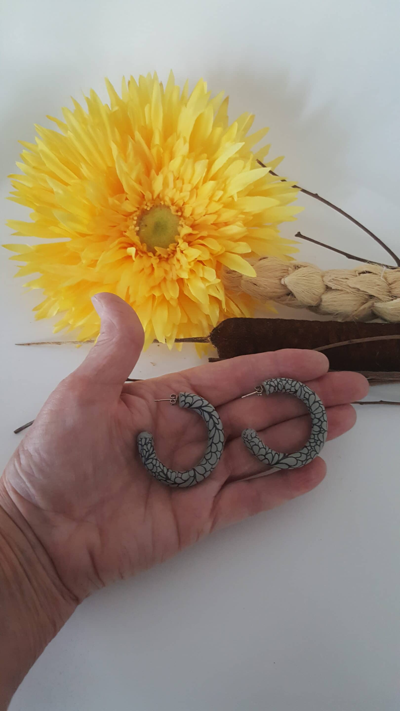 Wirework Designs | Handcrafted chainmaille jewellery and chainmaille products | Clay Hoops | 20210810_091754